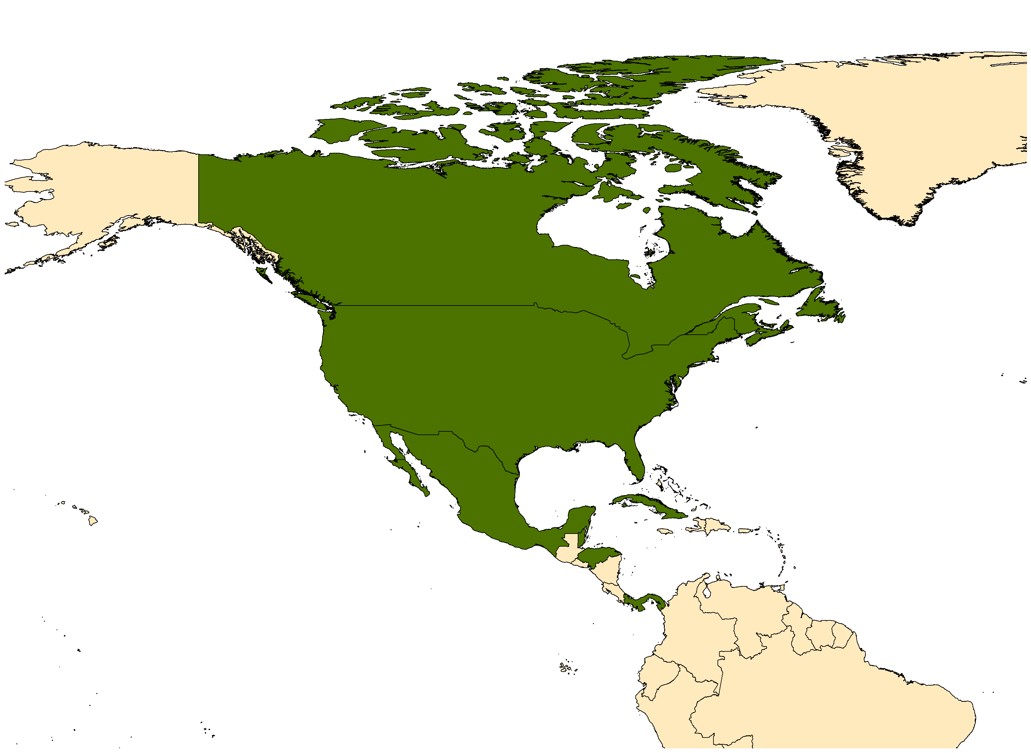 Distribution map for <em>Psorophora columbiae</em> (Dyar & Knab, 1906)