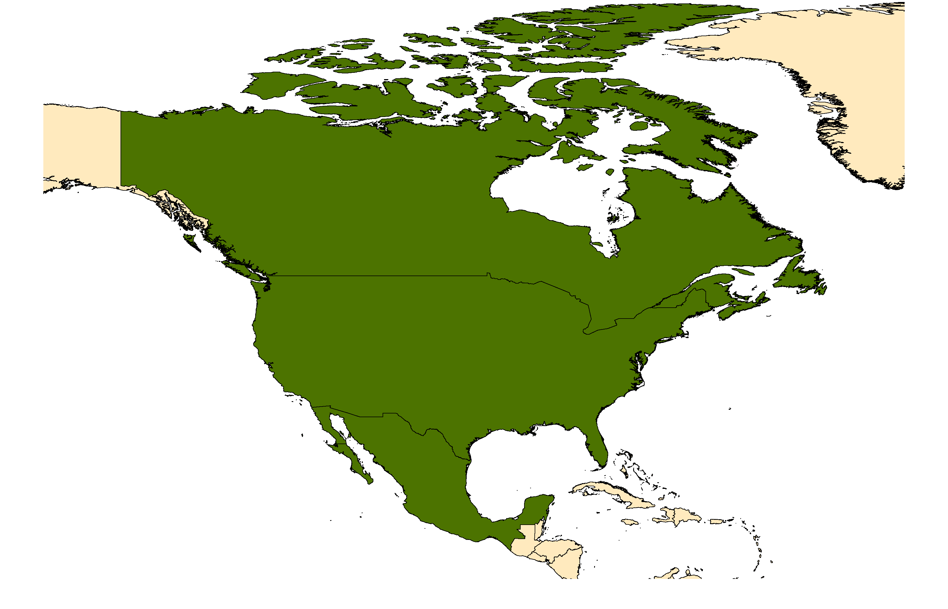 Distribution map for <em>Culiseta melanura</em> (Coquillett, 1902)