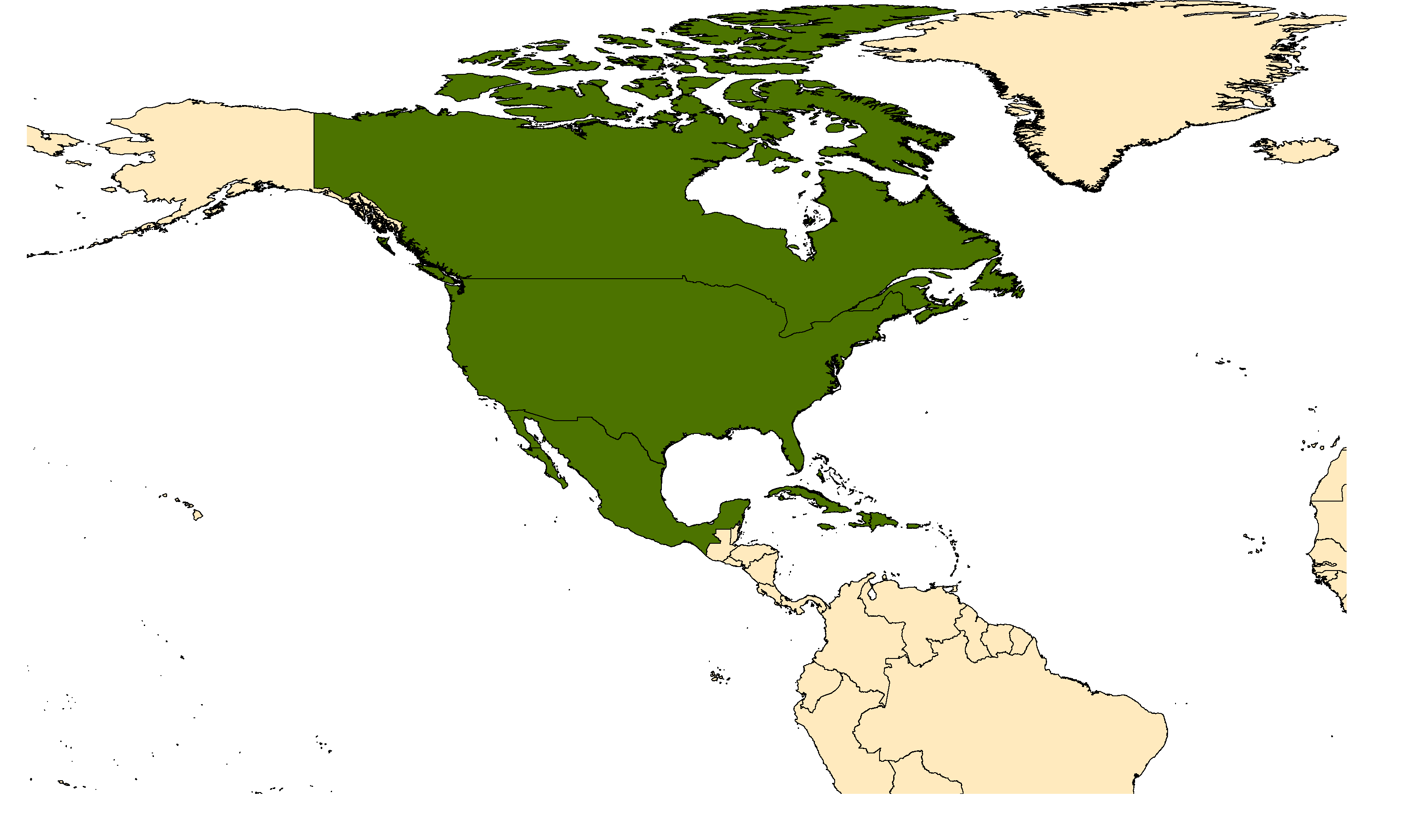 Distribution map for <em>Aedes sollicitans</em> (Walker, 1856)